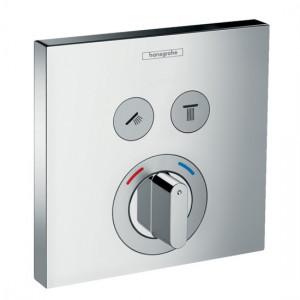 Hansgrohe ShowerSelect Mischer Unterputz für 2 Verbraucher