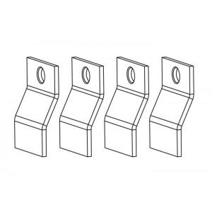 Schmidlin Zargen-Montagewinkel, Satz (4 Stück)
