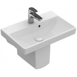 Villeroy & Boch Avento Waschbecken Compact, mit/ohne Überlauf, mit/ohne CeramicPlus