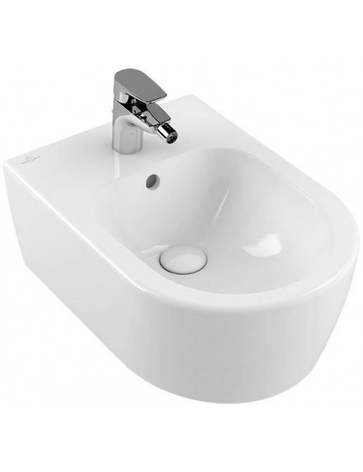 Villeroy & Boch Avento WC-Bidet Wandmodell, mit Überlauf