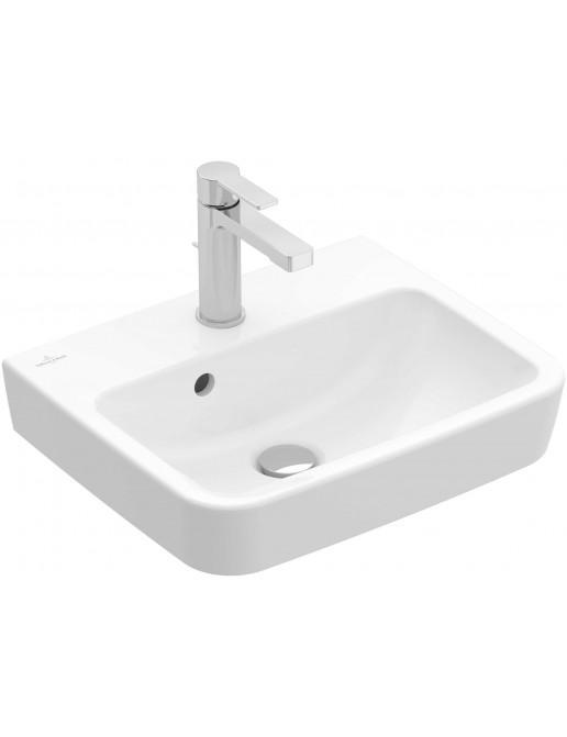 Handwaschbecken 500 x 370 mm ungeschliffen, mit/ohne Überlauf