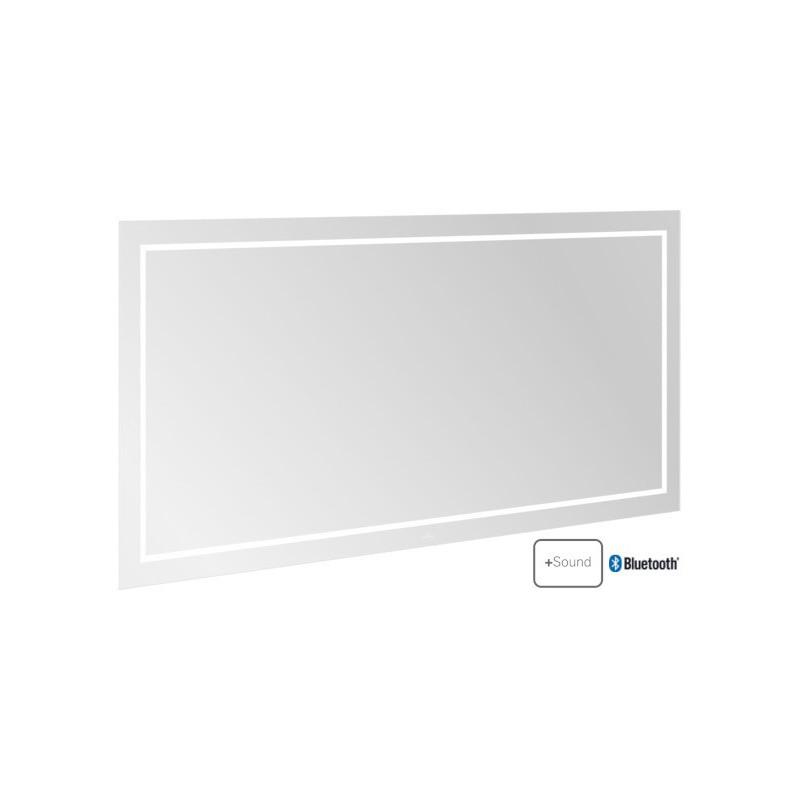 Villeroy & Boch Finion LED-Spiegel mit Bluetooth 1600 x 750 mm