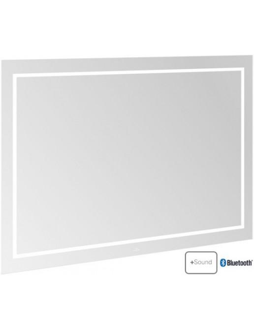 Villeroy & Boch Finion LED-Spiegel mit Bluetooth 1200 x 750 mm