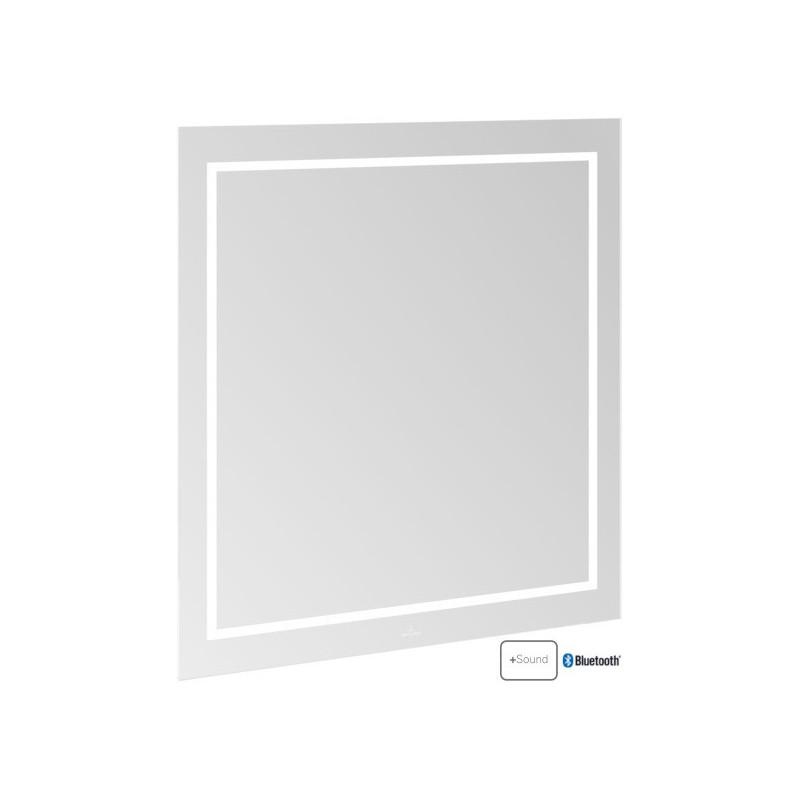 Villeroy & Boch Finion LED-Spiegel mit Bluetooth 800 x 750 mm