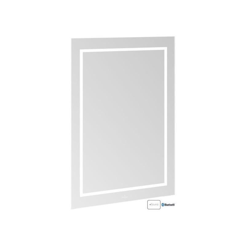 Villeroy & Boch Finion LED-Spiegel mit Bluetooth  600 x 750 mm