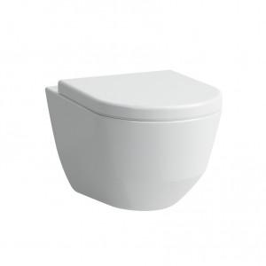 Laufen Pro Wand-Tiefspül-WC mit Spülrand weiss