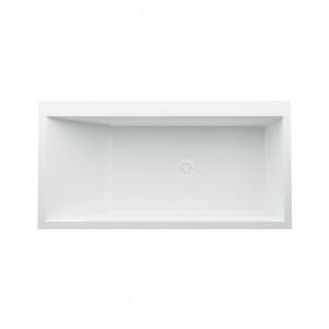 Kartell by Laufen Einbau-Badewanne rechteckig