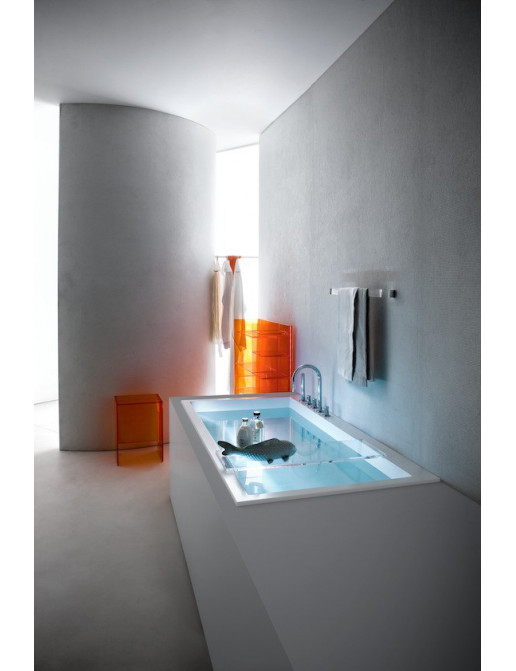 Kartell by Laufen Einbau-Badewanne LED-Beleuchtung