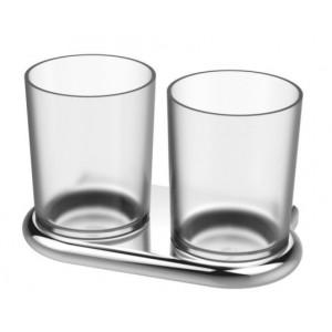 Bodenschatz NIA Doppelglashalter mit Mattglas